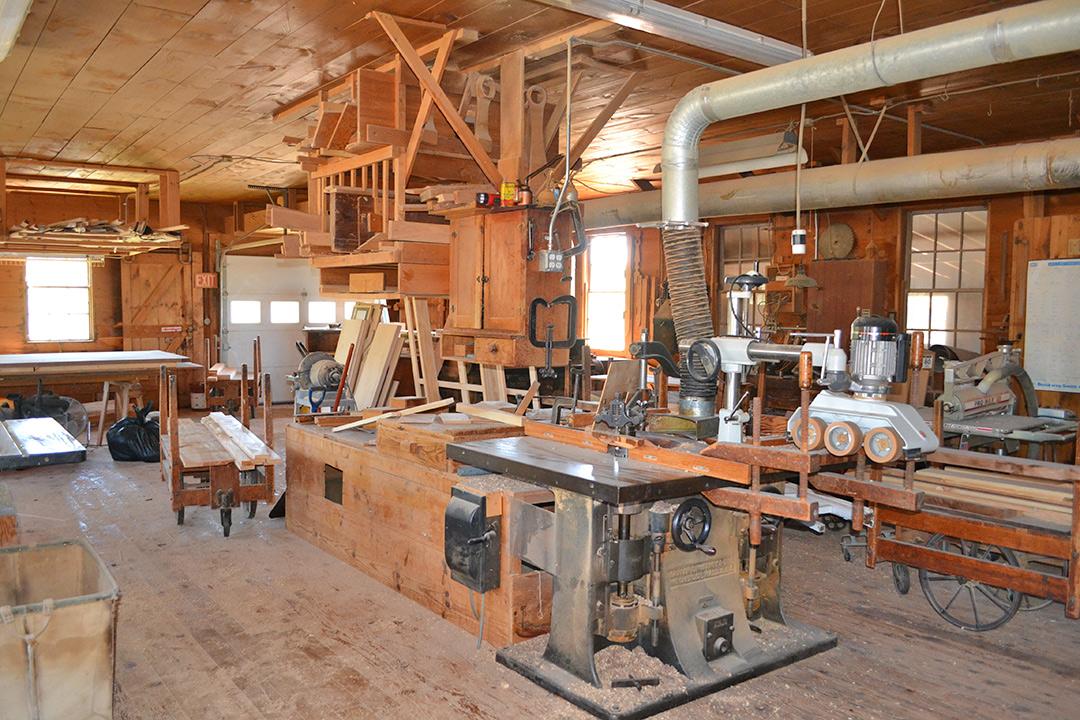 Boulia-Gorrell Lumber Company Custom Mill Shop