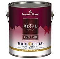 Benjamin Moore Regal Select Exterior High Build paint