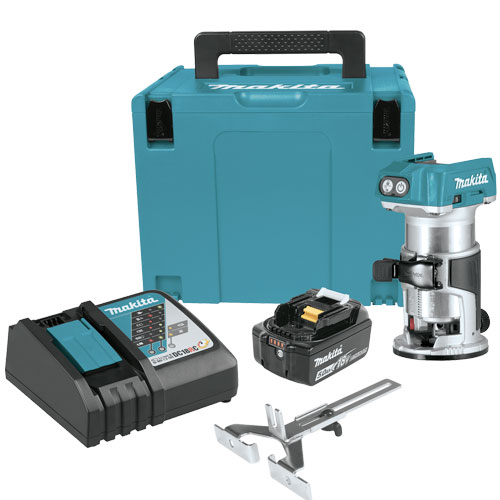Makita-Brushless-Cordless-Compact-Router-Starter-Kit-(5.0Ah)