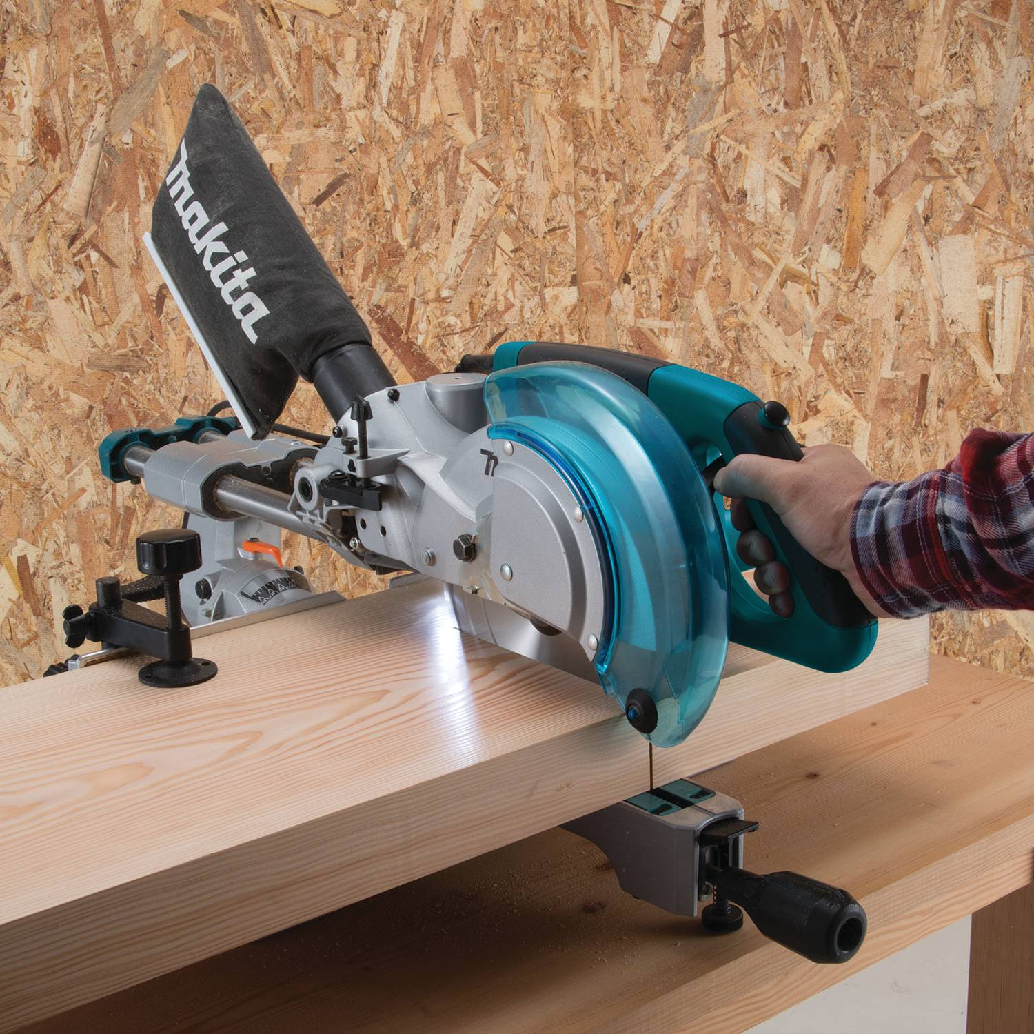 "Makita- LS0815F 8‑1/2"" Slide Compound Miter Saw"