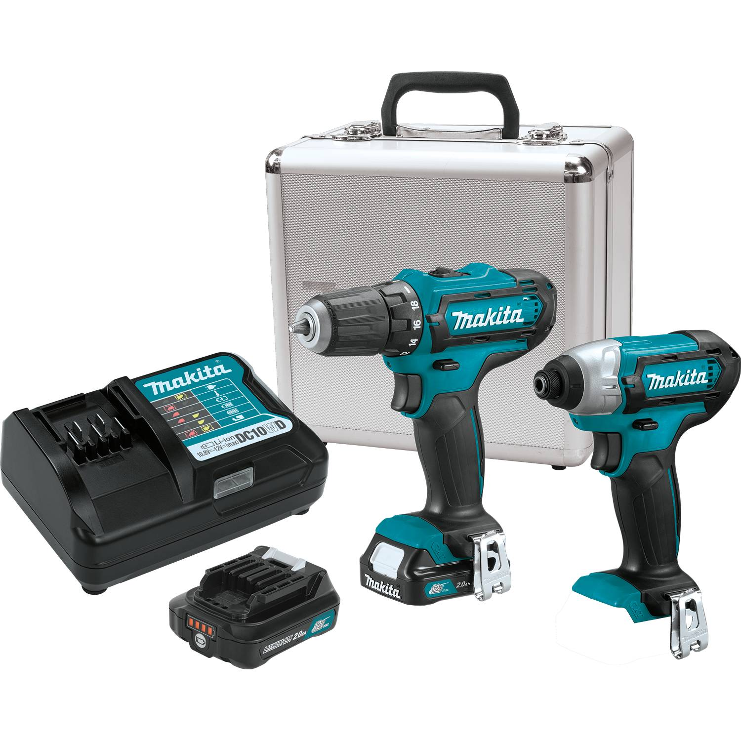 12V max CXT® Lithium‑Ion Cordless 2‑Pc. Combo Kit (2.0Ah)
