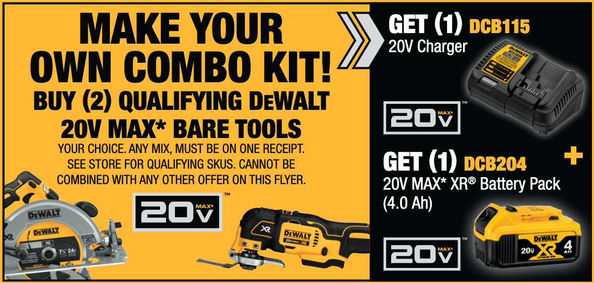 MAKE YOUR OWN COMBO KIT